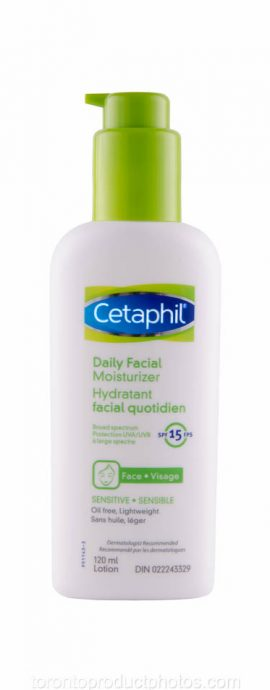 Product Image of cetaphil on white background Photographed by Toronto Product Photography Studio for Amazon, eCommerce & Commercial Clients