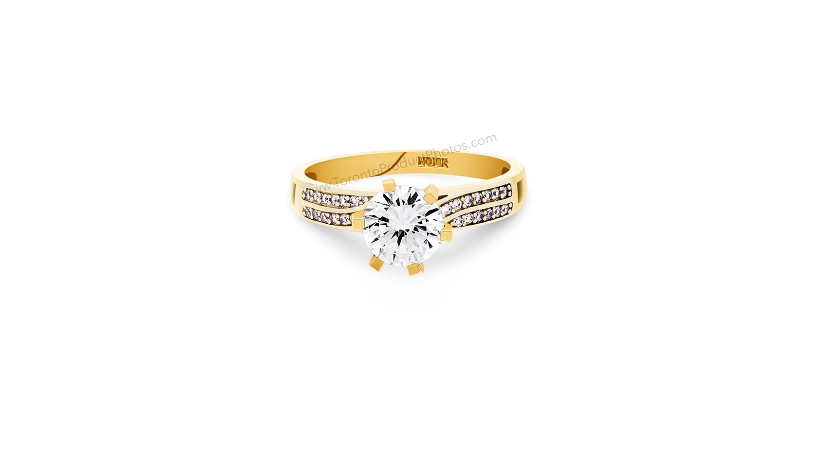 Mississauga Product Photography - Diamond Ring